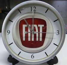 FIAT pendule murale horloge 20cms 500 126 128 127 600 1800 850 124 125 131 X19