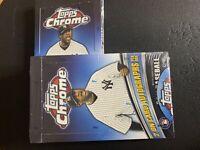 2011 Topps Chrome Baseball Factory Sealed Hobby Box - 2 on Card Autos per box