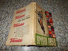 ALMANACCO ILLUSTRATO DEL CALCIO 1950 RIZZOLI NO CARCANO-PANINI-ALBUM CALCIATORI