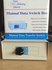 MANUAL DATA SWITCH BOX, 36C TWO WAY DW-35AB