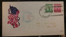 1941 Usa Marine Detachment In Trinidad Censored Cover to Rochester Ny
