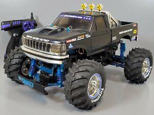 Tamiya 1/10 Blackfoot Xtreme Truck Brushless ESC 2.4GHz Light Aluminum Upgrade