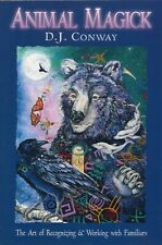 Animal Magick Art of Recognizing & Working with Familiars BOOK New Age Magic