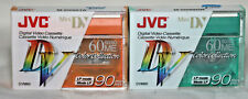 2x JVC Mini DV tapes. Color Collection. NEW & SEALED (H4)