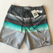 "Billabong Originals Spinner ~ Boardshorts ~ 32"" Surf Shorts de bain ~ BNWT ~ Rrp £ 43"