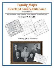 Family Maps Cleveland County, Oklahoma Genealogy OK Plat