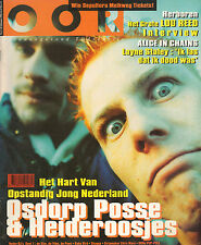 MAGAZINE OOR 1996 nr. 03 - LOU REED / ALICE IN CHAINS/ HEIDEROOSJES/OSDORP POSSE