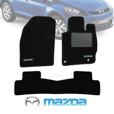 MAZDA CX-7 Custom Made Floor Mats F + R 0/2009-ON 2 Year Warranty CX7 Black