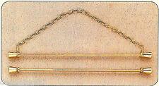 Set di 2 Basi per Ricamo in metallo dorato Copenaghen 16 cm Permin 5205-16