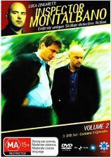 INSPECTOR MONTALBANO : VOLUME 2 -  DVD - REGION 4 - Sealed