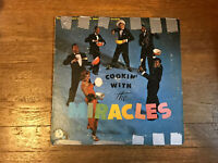 The Miracles LP - Cookin With the Miracles - Tamla TM 223