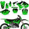 Graphic Kit Yamaha YZ125 YZ250 MX Dirt bike YZ Deco Backgrounds 2002-2014 ICE G
