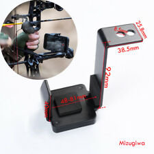 Smartphone Cell Phone Holder Clamp Bow Mount for Compound Recurve Bow Archery