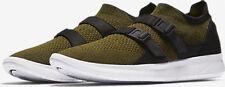 NIKE sz 11  Men's Air Sockracer FLYKNIT Shoes 898022-002 Olive /Black NEW $130