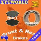 Front Rear Brake Pads Shoes Yamaha XC125 XC 125 1996-03