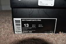 Nike Air Foamposite Pro Dark Obsidian Size 13