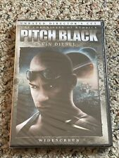 Pitch Black (Dvd, 2004, Unrated, Directors Cut, Widescreen Edition) New Sealed