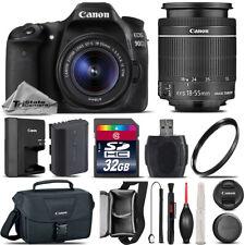 Canon EOS 90D DSLR WiFi NFC Camera + 18-55mm IS STM Lens + Canon Bag - 32GB Kit