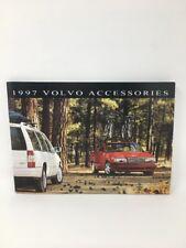 Volvo Car Accessories 1997 Dealer Showroom Brochure Book 17-1725