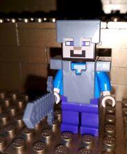 Figur LEGO Minecraft blaues Schaf unbespielt geschoren-