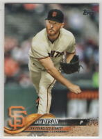 2018 Topps San Francisco Giants Complete Team Set Series 1 2 and Update 31 cards