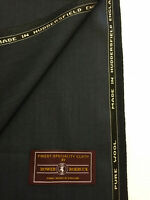 BOWER ROEBUCK Blue/Grey Pure Wool Suit Fabric (280g)