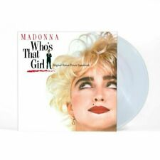 MADONNA - WHO'S THAT GIRL CRYSTAL CLEAR VINYL 180 gram 2019 New Sealed official