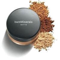 New BareEscentuals bareMinerals SPF15 MATTE Foundation XL 6g - Pick Color