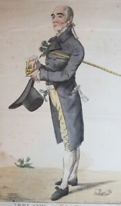 1807 Ireland in Scotland Oxford to the Land of Cakes DIGHTON Hand Coloured