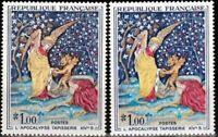 "FRANCE STAMP TIMBRE 1458 "" TAPISSERIE L'APOCALYPSE , BELLE VARIETE "" NEUF xx TTB"