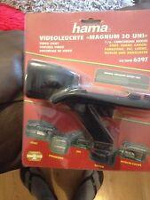 hama camcorder video light 6397