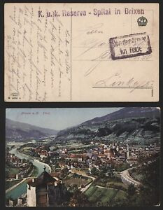 Austria WWI - Field Post Postcard Tirol E346