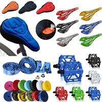 Bicycle Sports Saddle Seat Soft Platform Pedals Handlebar Tape Bike Accessories