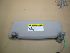 04-11 VOLVO S40 V50 FRONT RIGHT PASSENGER SIDE SUN VISOR SHADE GRAY 30653404 OEM