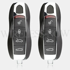 2 Car Key Fob Keyless Entry Remote 4Btn For 2015 2016 Porsche Boxster