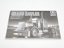 NOUVEAU TAMIYA grand camion 1/14 MANUEL tr0