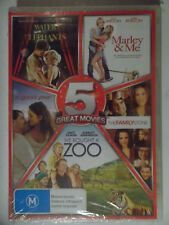 Family 5-pack (water for Elephants Marley and Me a Good Year The Fam