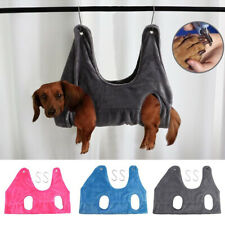 Dog Grooming Hammock Pet Cat Bath Towel Muti-Functional Washing Trimming Nail Us