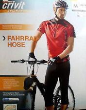 Fahrradhose Crivit Sports Herren Schwarz Training Fahrrad hose Biking hose Neu