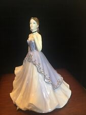 Coalport Figurines Limited Edition, The Gem Collection Daimond.