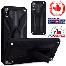 For Apple iPhone 5/6/7/8 Plus/XR /Xs Max Heavy Duty Armour Hard Stand Case Cover