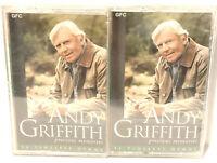 Andy Griffith Precious Memories Cassette 2 Tape Set NWOT New Vintage 1995 CEMA