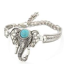 Elephant Stone Charm Bracelet
