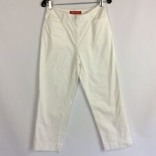 AK Anne Klein Stretch Pants White Size 4