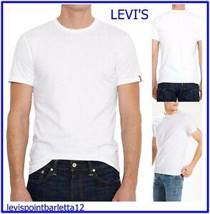 Levis maglietta t-shirt levi's da uomo bianca t shirt maglia a manica corta L XL