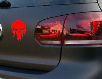 Totenkopf Auto Aufkleber Blut Totenkopf Sticker Skull Blood Motorrad Tattoo