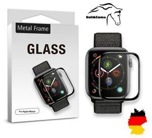 ✅ Apple Watch Series 3 4 5 6 &SE Gr.44 /42/ 40mm Displayschutz gehärtetes Glas ✅