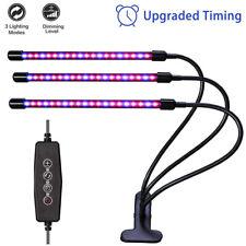 LED Pflanzenlampe Dimmbar Pflanzenlicht Wachstumslampe Vollspektrum Grow Licht