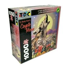 TDC Puzzle - D. Rusty Rust's Coyote Moon 1000 pcs - Poster Sized - NEW SEALED