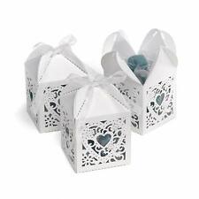 Hortense B. Hewitt Wedding Accessories 2-Inch Die Cut Decorative Favor Boxes, 25